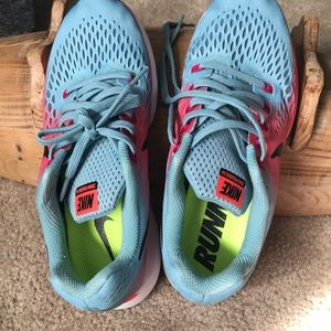 Nike Shoes - Air Zoom Pegasus 34 MICA Blue/Pink-Sport Fuchsia